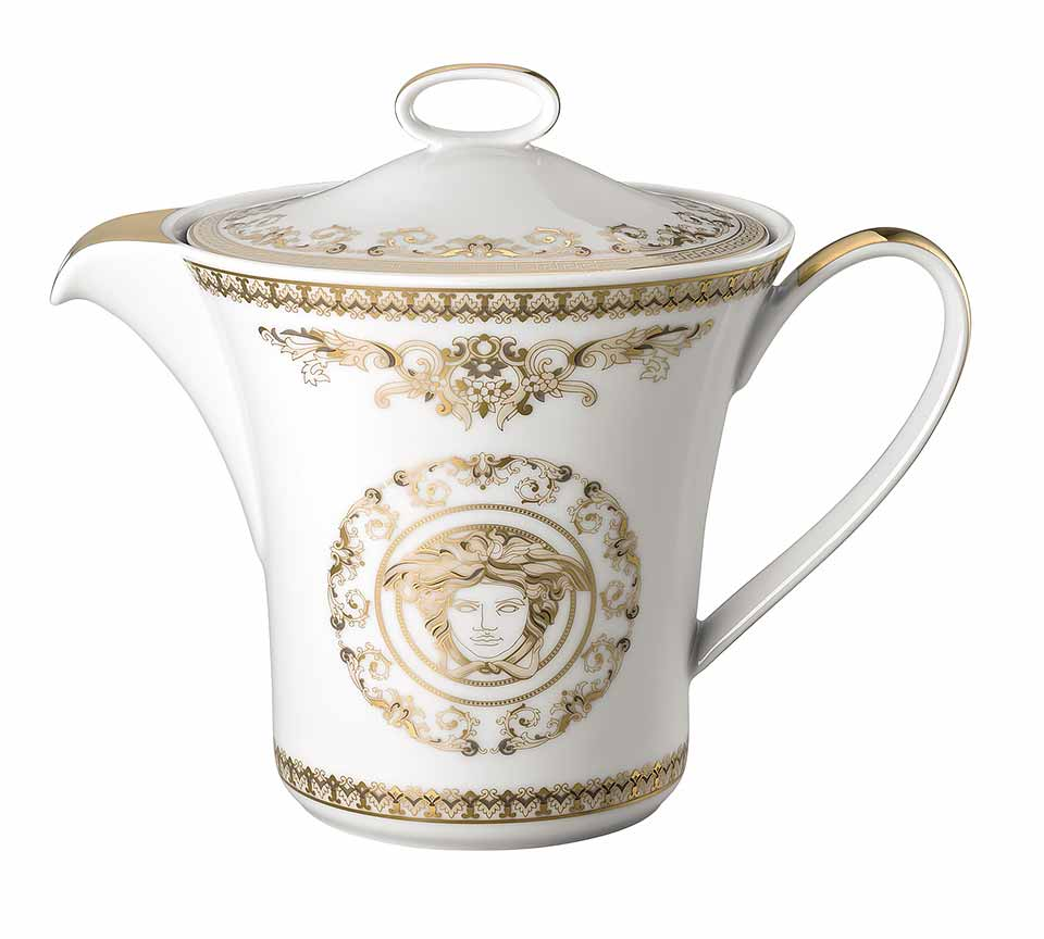 VERSACE Medusa Gala Gold Tea Pot
