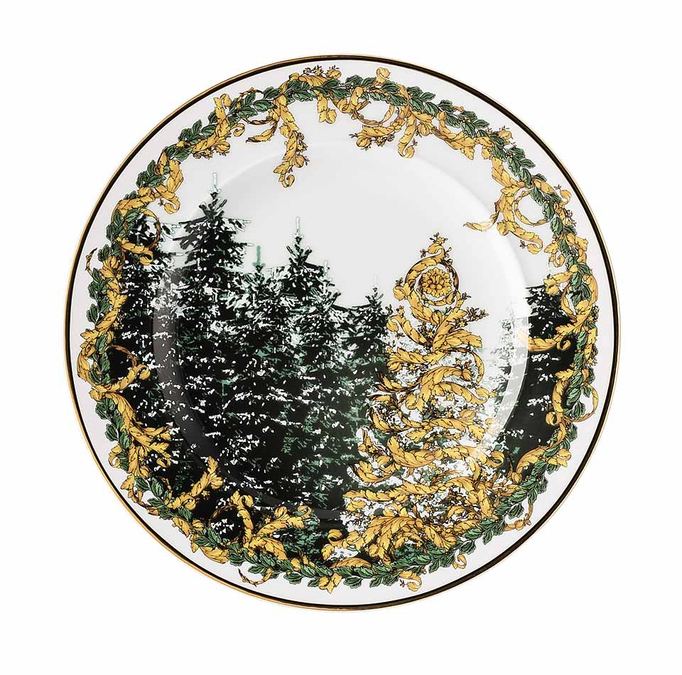 VERSACE A Winter's Night 18cm Plate
