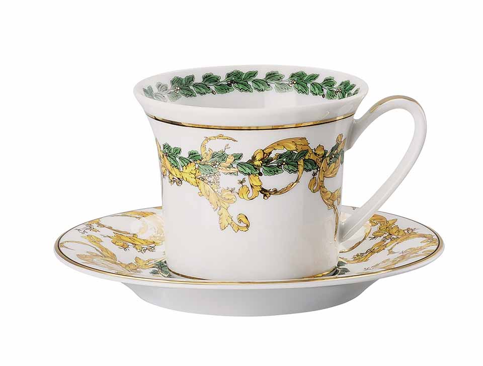 VERSACE A Winter's Night Espresso Cup and Saucer