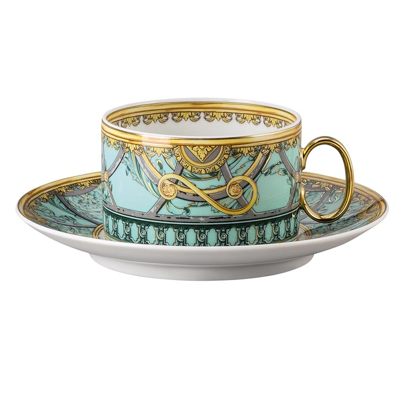 La Scala del Palazzo Verde tea cup and saucer